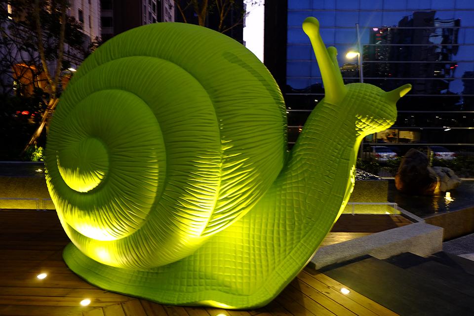 玻璃钢蜗牛