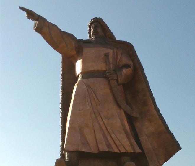 内蒙古凉城段铜人物《拓跋珪》