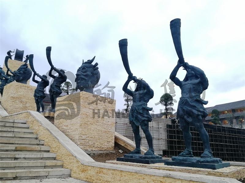 贵州牂牁江景区夜郎王铸铜雷电竞raybet