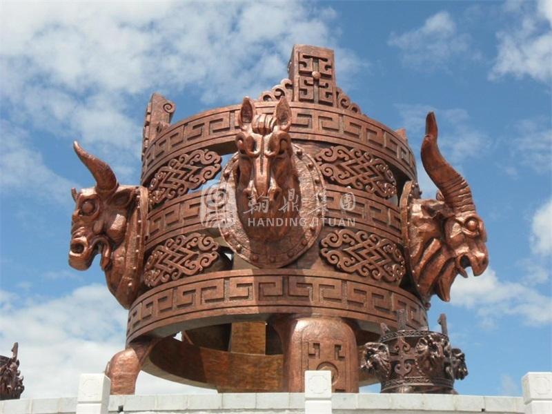 内蒙古铸铜《火撑子》