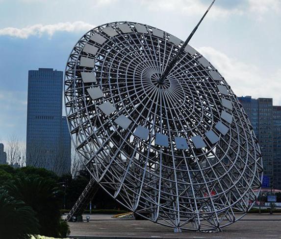 不锈钢日晷